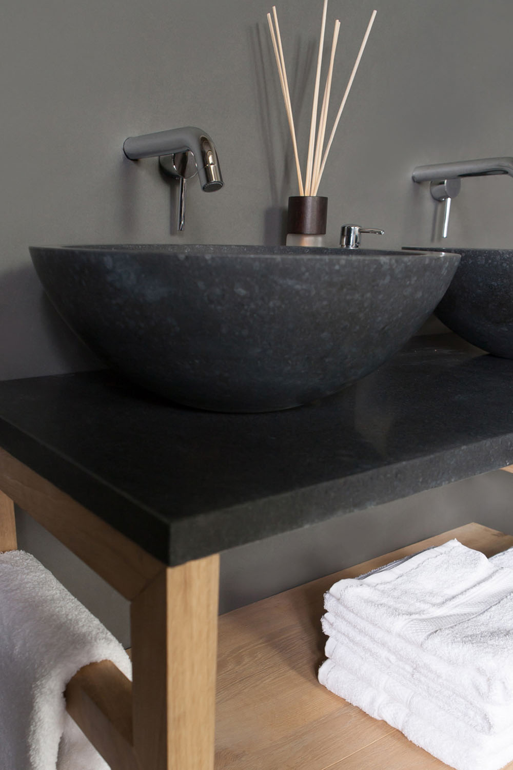 naturstein aufsatzwaschbecken roma granit 40 cm spa ambiente. Black Bedroom Furniture Sets. Home Design Ideas